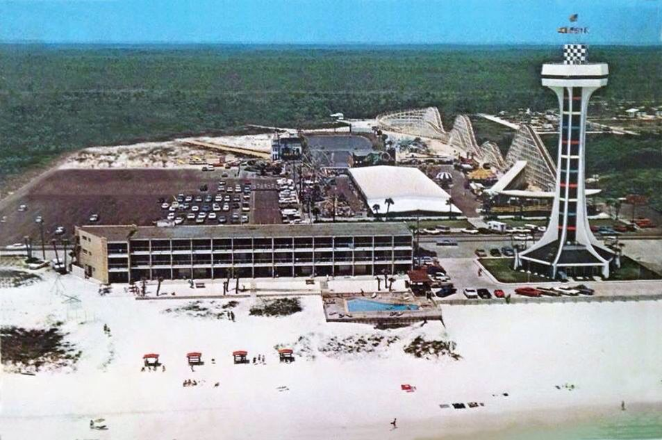 Miracle Strip Amusement Park Way Before Middle And Back Beach Roads Were Built Panama City Beach Fl Panama City Beach Florida Panama City Panama