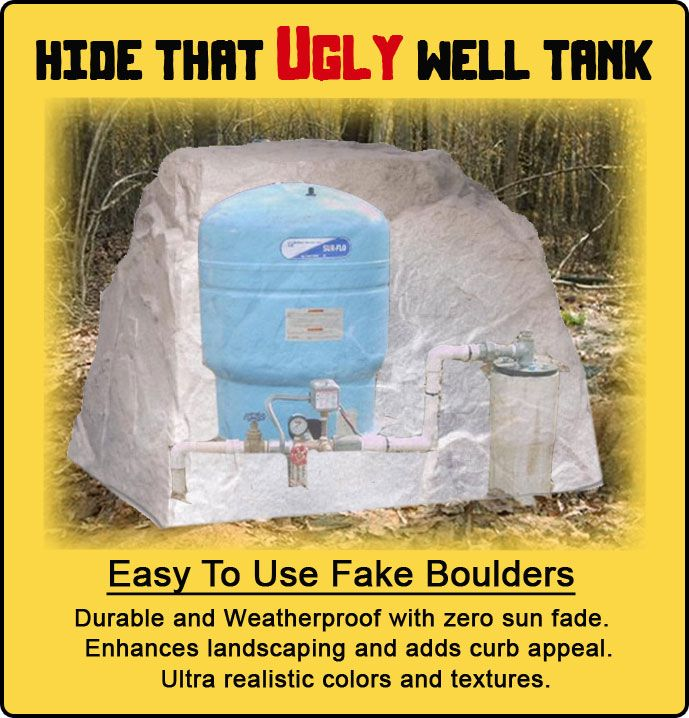Insulated Outdoor Decorative Well Covers For Large Pumps Tanks