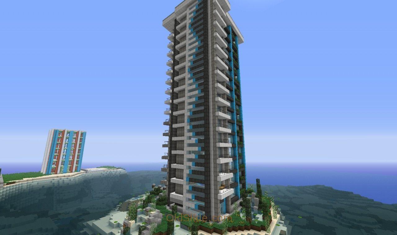 Minecraft Modern Skyscraper  Minecraft modern, Modern skyscrapers