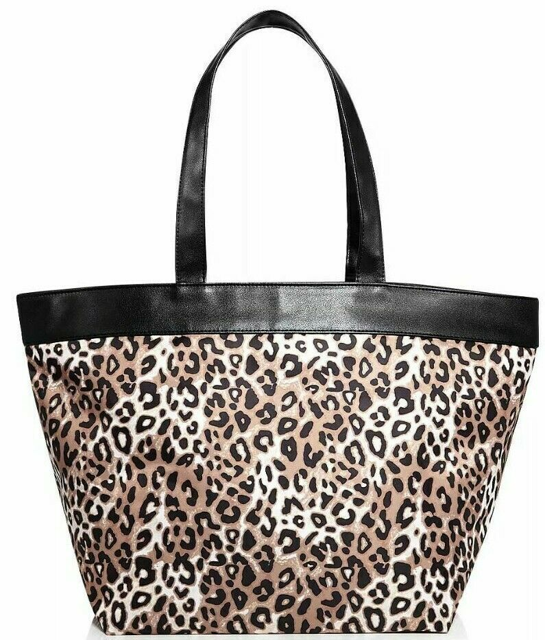New Shopping Bag Tote Animal Leopard Print from Bloomingdale's