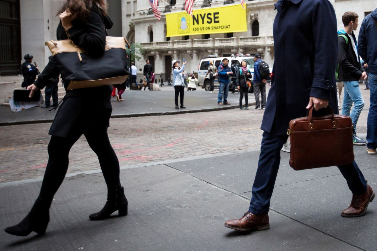 Wall Street Rule for the MeToo Era Avoid Women at All