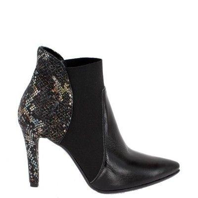 Botki Eremo Skora Licowa Czarna Obcas Szpilka 37 6536225018 Oficjalne Archiwum Allegro Ankle Boot Boots Shoes