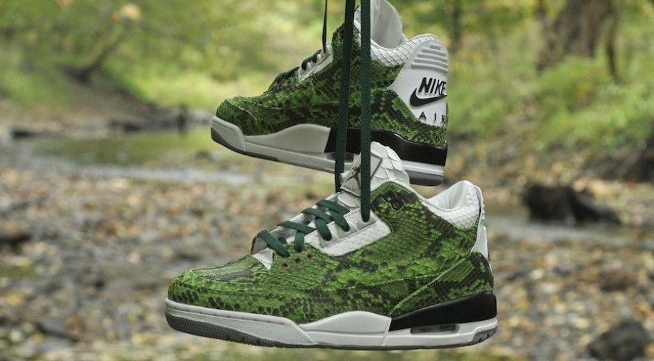 Green Python Air Jordan III
