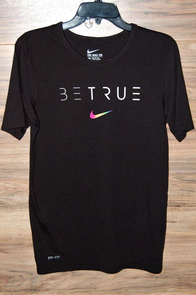 "Athletic Cut Green Graphic  Tee /""Swoosh/"" Nike Men/'s Dri-Fit"