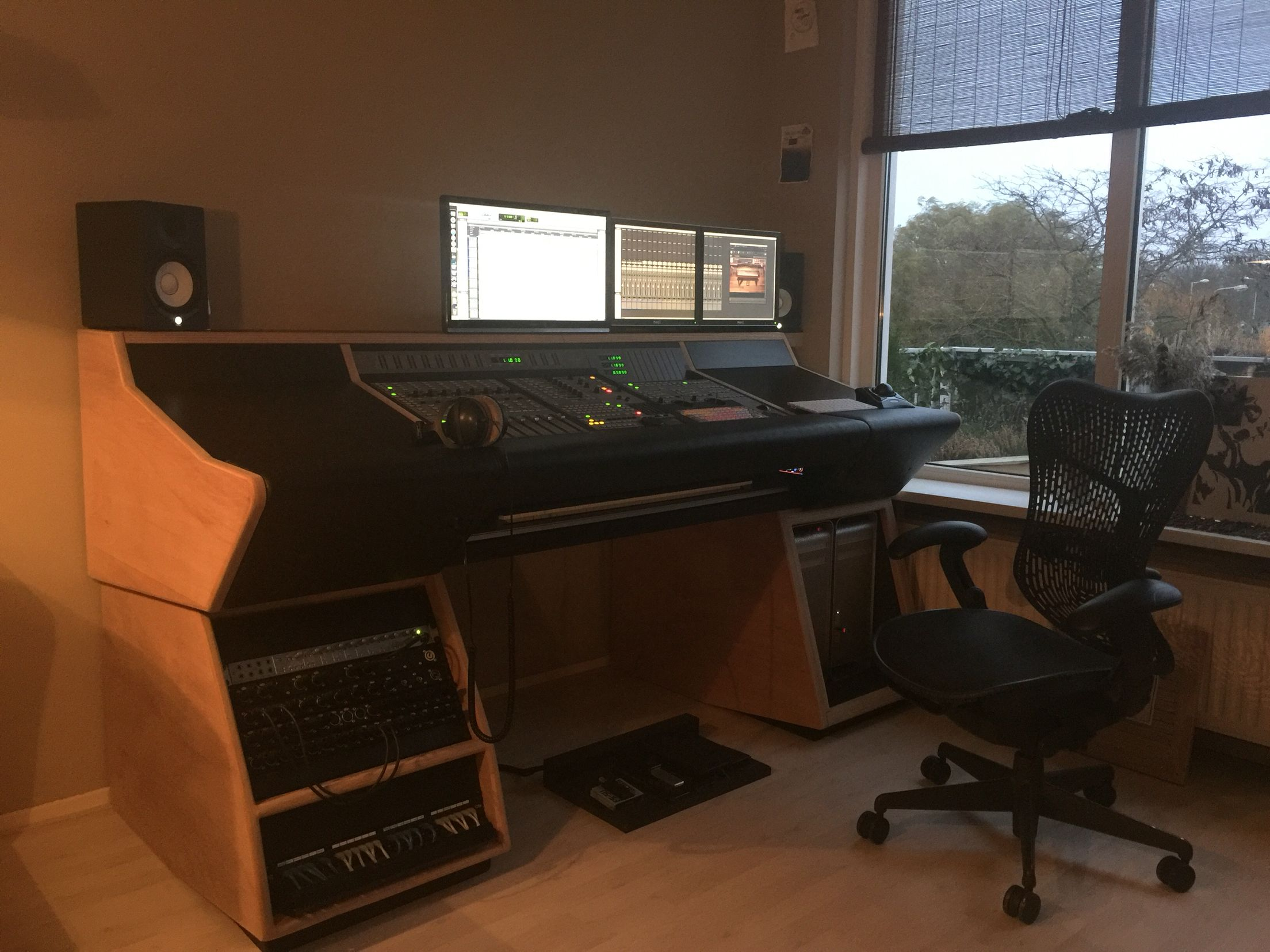 My Studio Desk Designed And Build By Myself For Procontrol