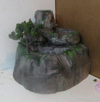 Diy Waterfall for terrarium. gardening Pinterest