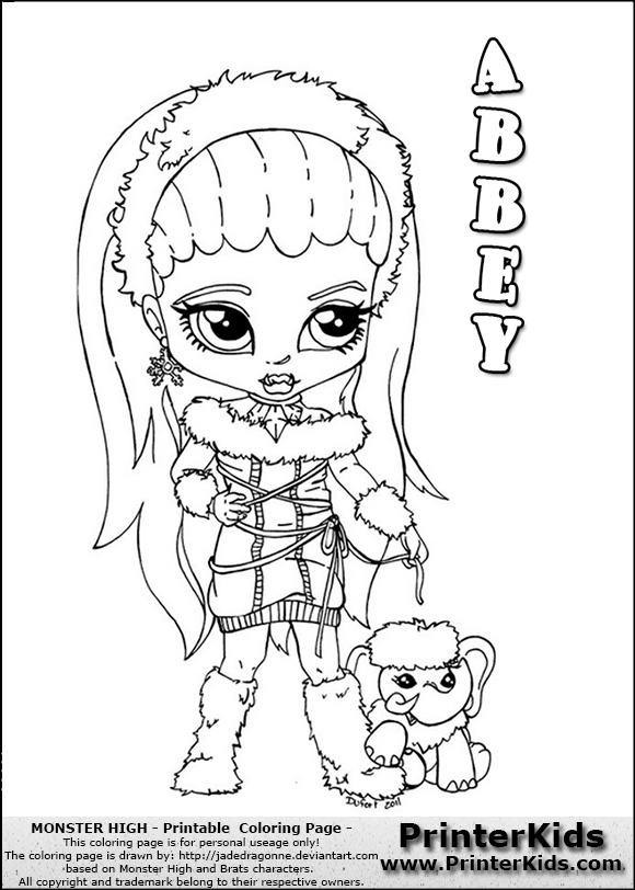 monster high coloring pages to print you are here printerkids