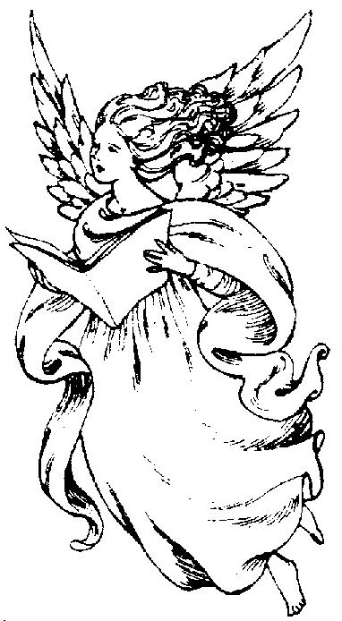 angel bear coloring pages - photo#21