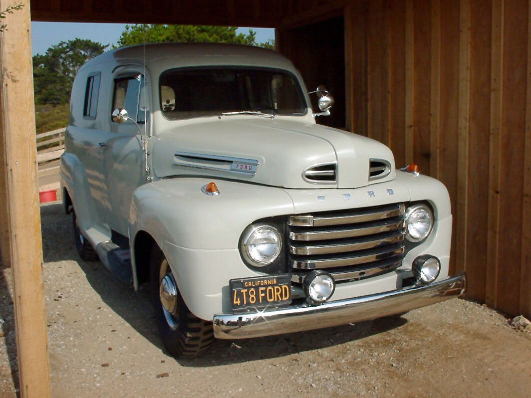 1948 Ford Panel Ambulance Resto Rat Runners Garage Pinterest Truck