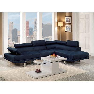 Infini Furnishings Sectional Upholstery:
