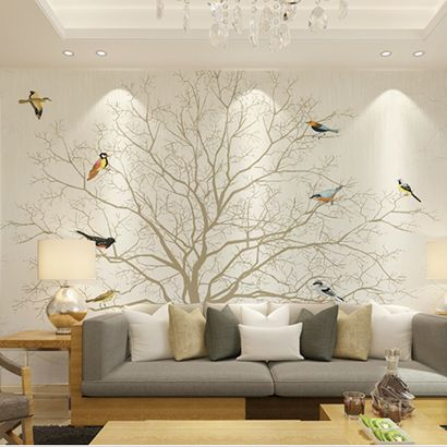 Find more wallpapers information about large mural photo wallpaper waterproof living room tv - Pheasant wallpaper for walls ...