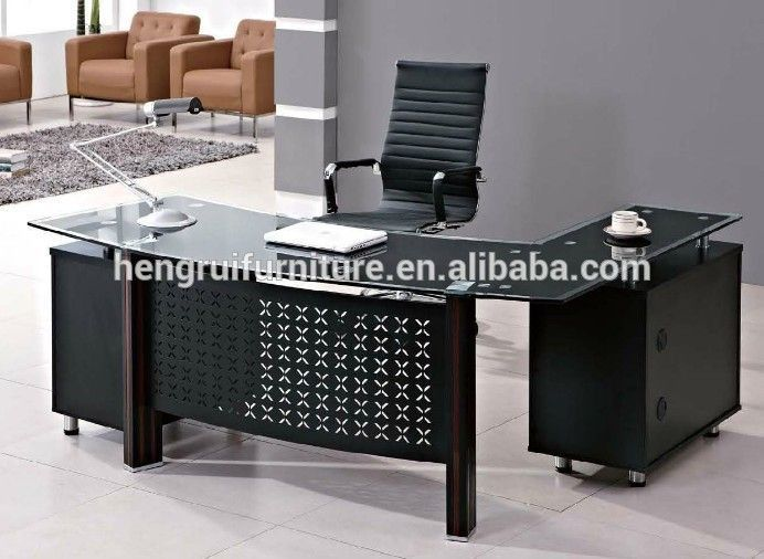 latest office table. Latest Office Table Design \u0026 Executive Counter  With Glass Top And Latest