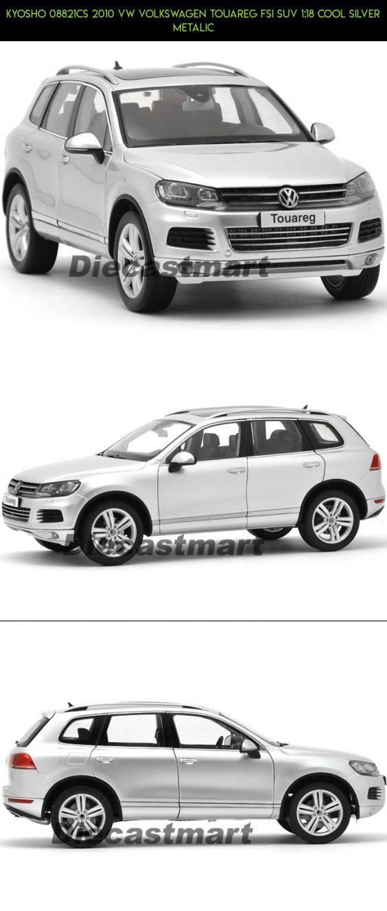 KYOSHO 08821CS 2010 VW VOLKSWAGEN TOUAREG FSI SUV 1:18 COOL SILVER METALIC