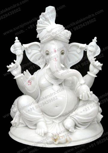 Marble Ganesha Murti Ganesh Statue Statue Ganesha