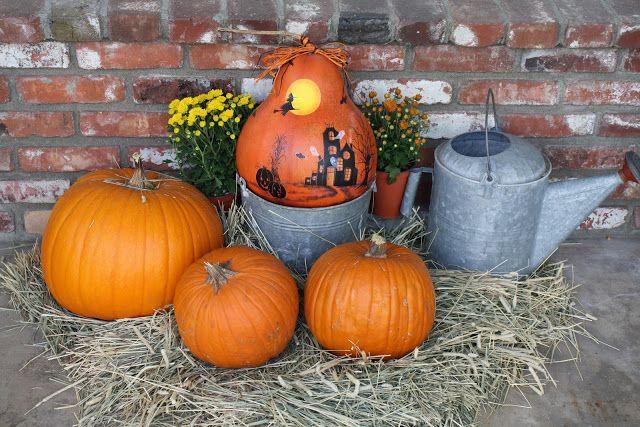 Fall + porch