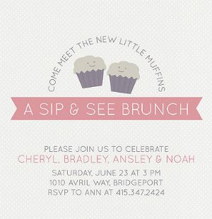 Cute Baby Shower Invite For A Second Baby | Party Planning, Invites, U0026  Gifts | Pinterest | Babies