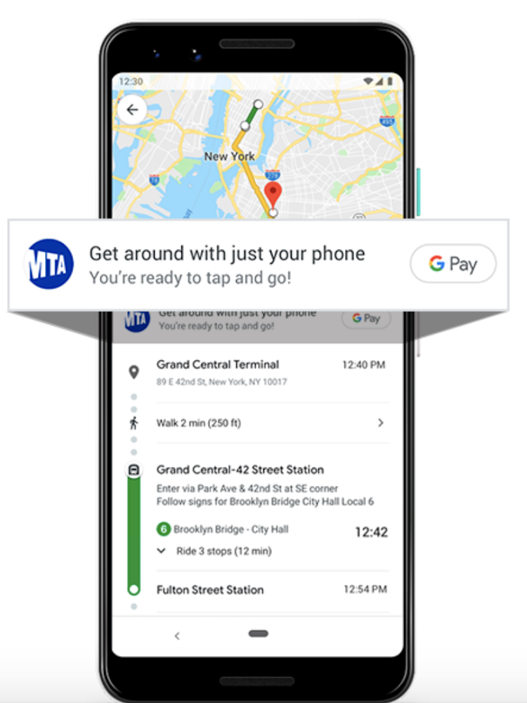 Your commute just got easier with Google Pay and the