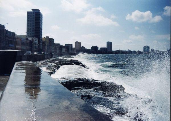 Malecón de la Habana Cuba 2000 Susana Soto Poblette