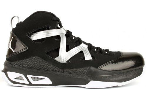 new photos 5a150 c837b Nike Jordan Melo M9 Basketball Shoes. Leather and synthetic, rubber role,  black white metallic silver.  basketball  basketballshoes  jordan  melo   jumpman   ...