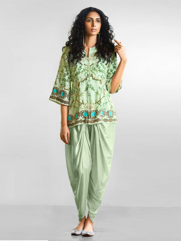 Dhoti salwarsuit,,,,indowestern dress,,,,mehandi dress