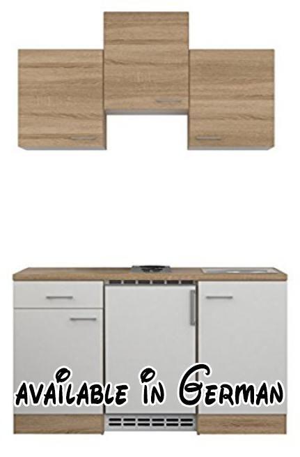 B00ELCBZPC  Flex-Well 00007634 Singleküche Samoa 150 cm weiß - arbeitsplatten küche 70 cm tief