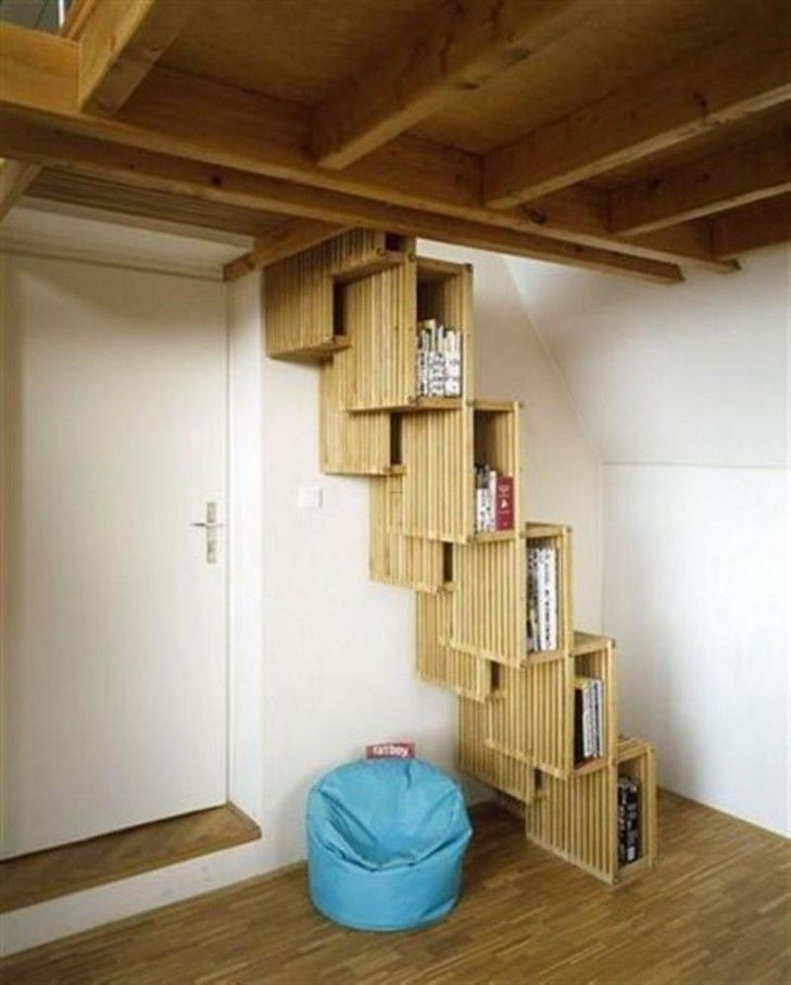 Awesome Staircase for Small Space: Astonishing Space Saving ...