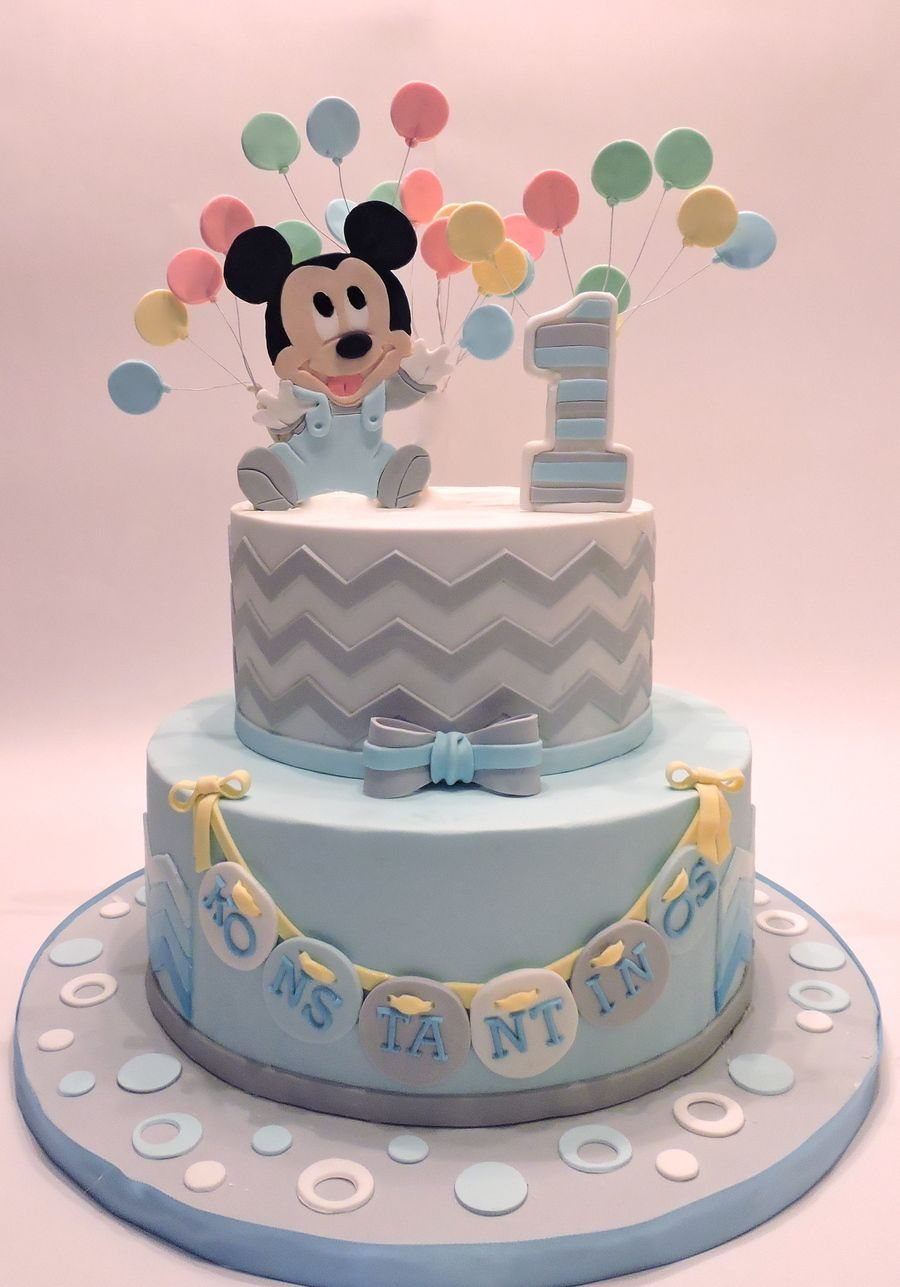 Baby Mickey Mouse Mickey Mouse Birthday In 2019