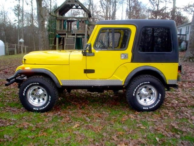 Jeep Cj5 Hardtop And Full Doors For All Late Model 1976 1983 Cj5