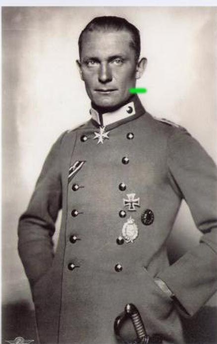 Hermann Goering juring WW1
