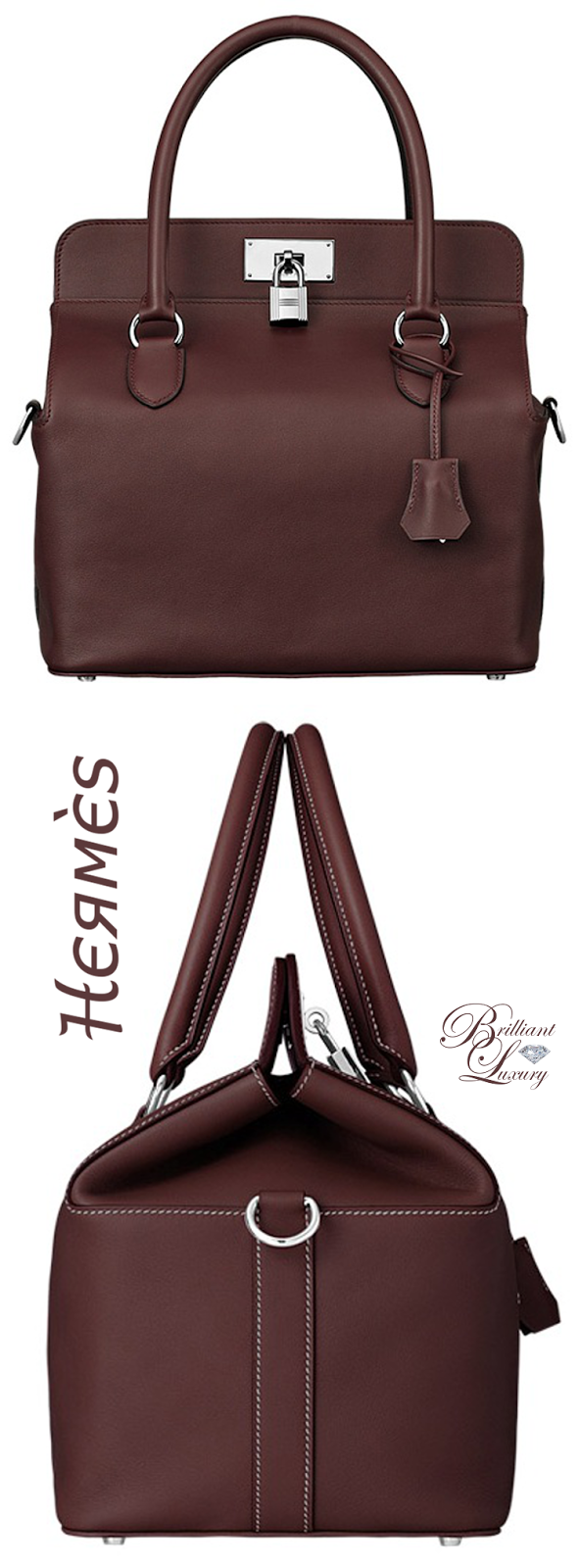 Brilliant Luxury * Hermès 'Toolbox' Bag