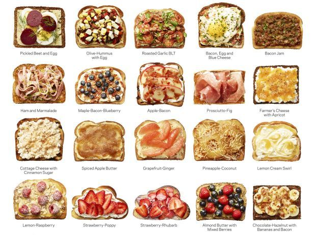 Why toast is on trend toast ideas recipes and butter think beyond butter and flip through food network magazines 50 toast recipes youll forumfinder Images