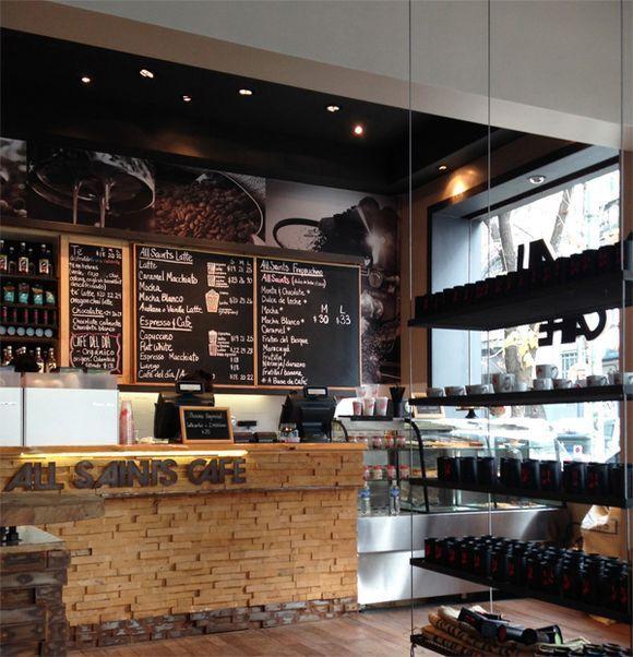 Estilo de decoracion de barras para cafe buscar con - Decoracion de cafeterias pequenas ...