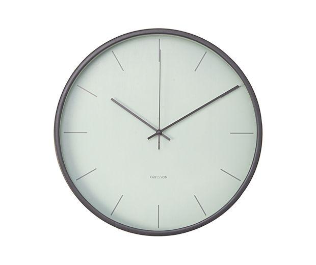 Present Time Wall Clock Mist Wall Clock Wall Clock Design Clock