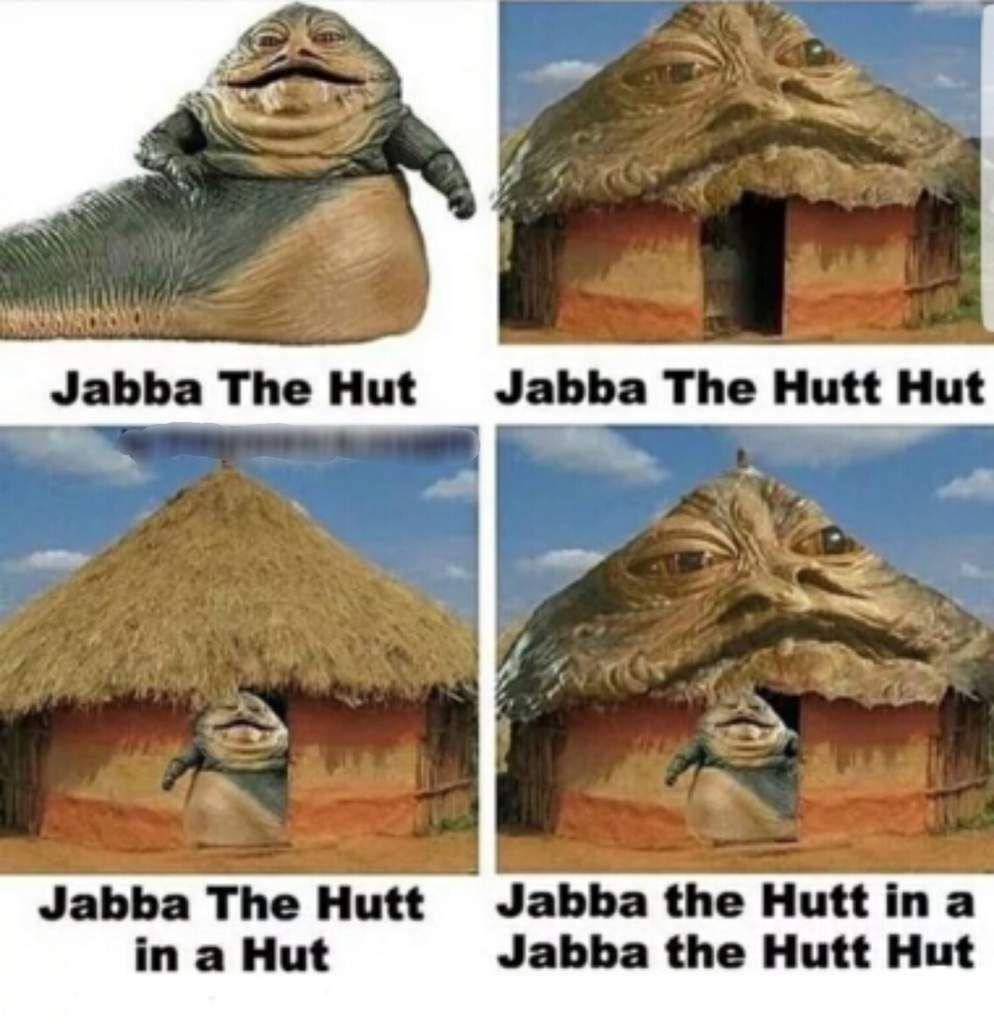 I M Still In My Jabba The Hutt Hut Star Wars Amino Star Wars Pictures Star Wars Memes Star Wars Facts