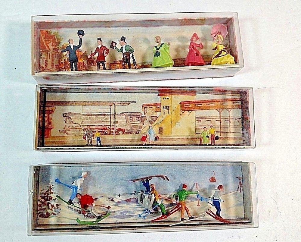 Walter Merten Layout Figures Miniaturplastiken Germany N830