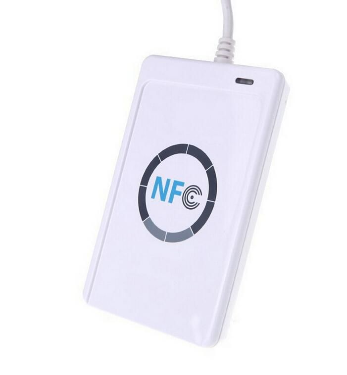 Jakcom ACR122u USB NFC Reader Writer 13.56Mhz RFID Copier Duplicator ...