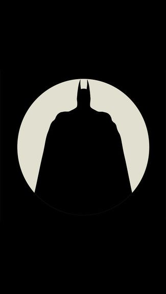 The Batman Iphone 5c 5s Wallpaper Batman Silhouette Batman