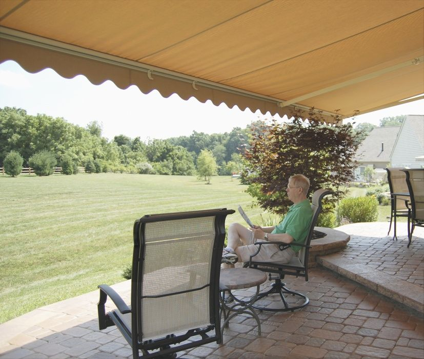 50 Shades Of Cool Awnings To Shade The Sun Milanese Remodeling Patio Backyard Pergola Pergola Lighting