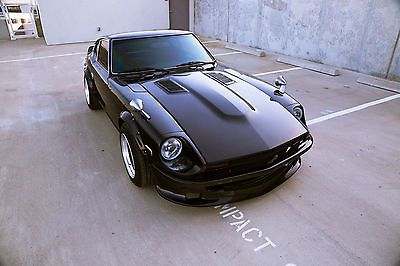 Datsun 280Z Restored V8 Work Wheels Fender Mirrors New Engine And Trans  Full Int