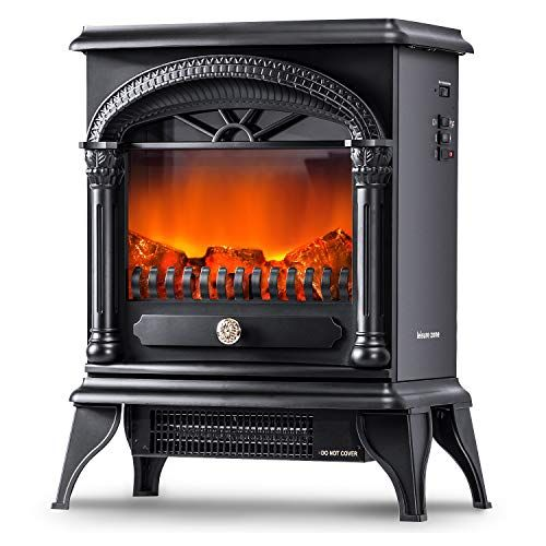 Leisure Zone Portable Electric Fireplace Stove Freestanding Fireplace Heating Stove Indoo Portable Electric Fireplace Freestanding Fireplace Electric Fireplace