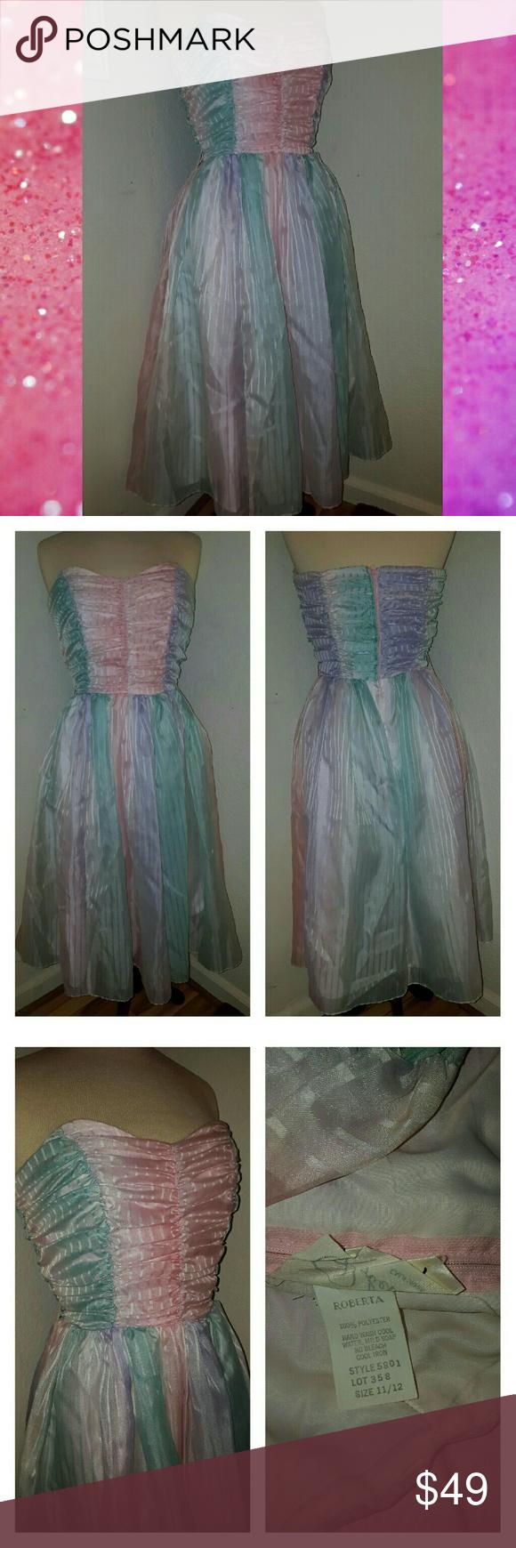 Sold vintage s s prom dress pink s prom dresses