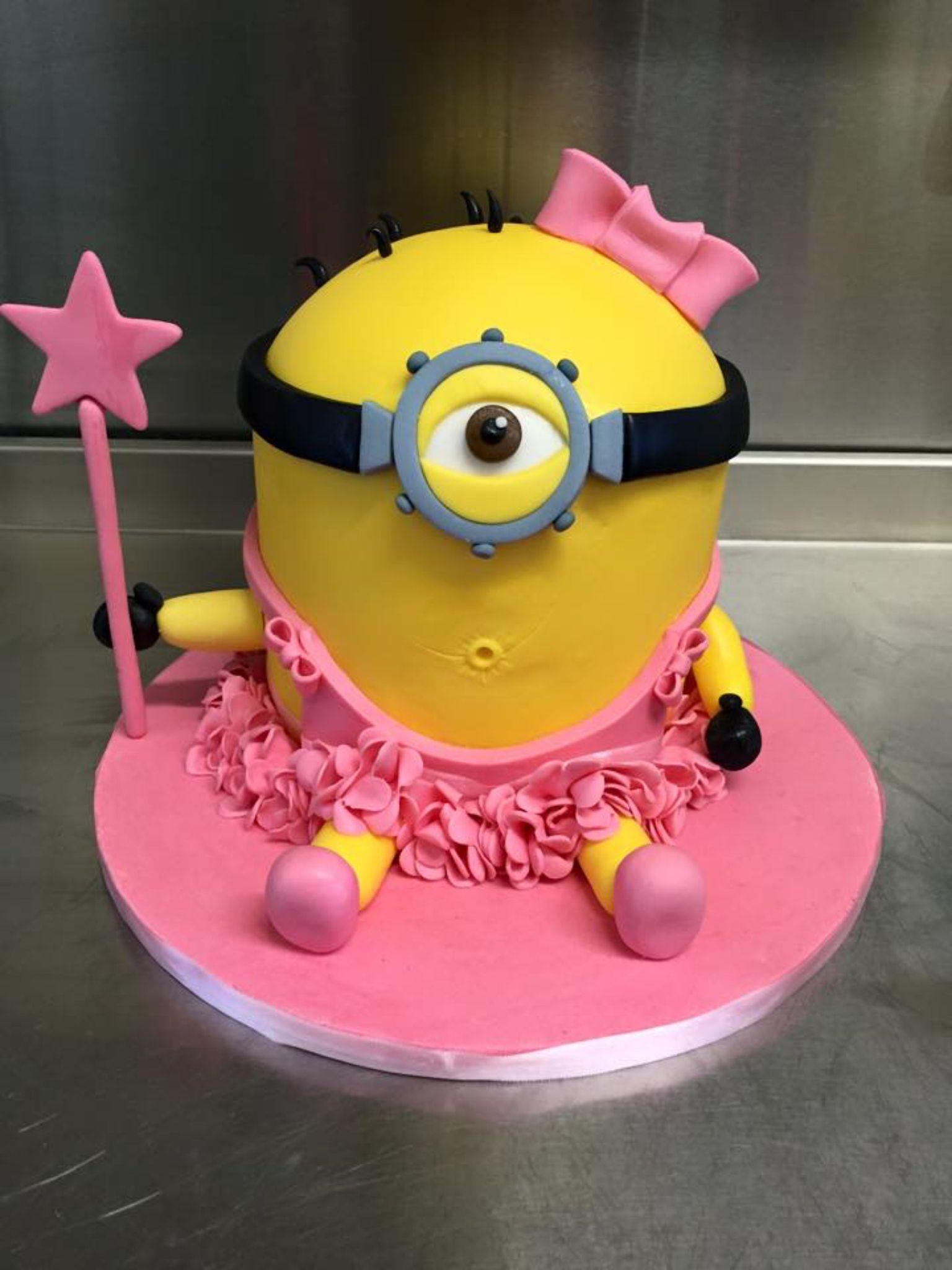Princess minion birthday cake | Celebration cakes | Pinterest ...