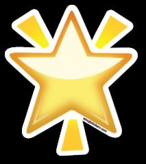 Glowing Star Emojistickers Com Oboi Dlya Notbuka Emodzi Smajliki