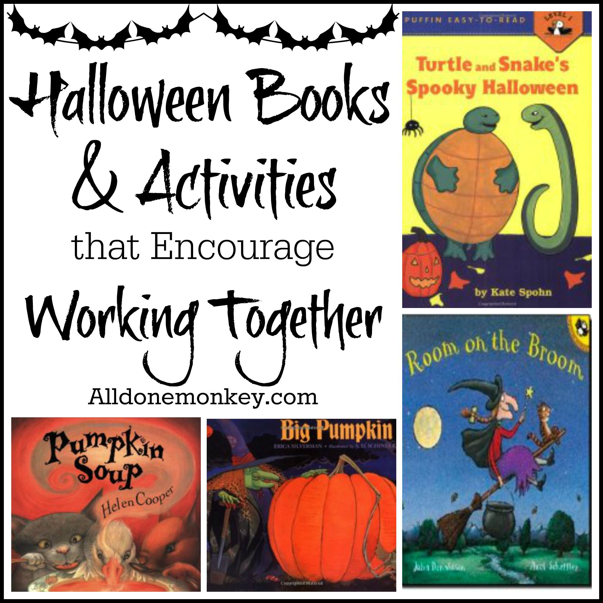 Halloween Books and Activities that Encourage Working