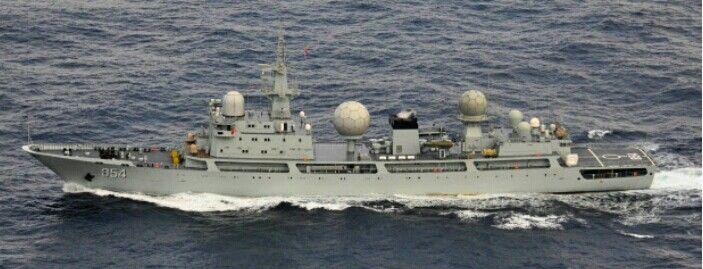 중국해군 정보수집함