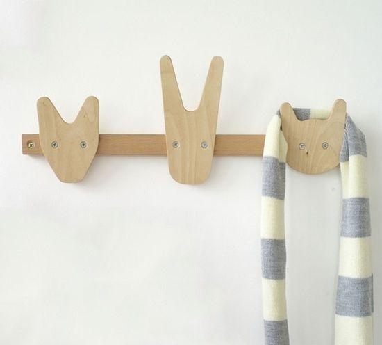 Gerelateerde Afbeelding Kinder Zimmer Deko Holztiere Garderobe