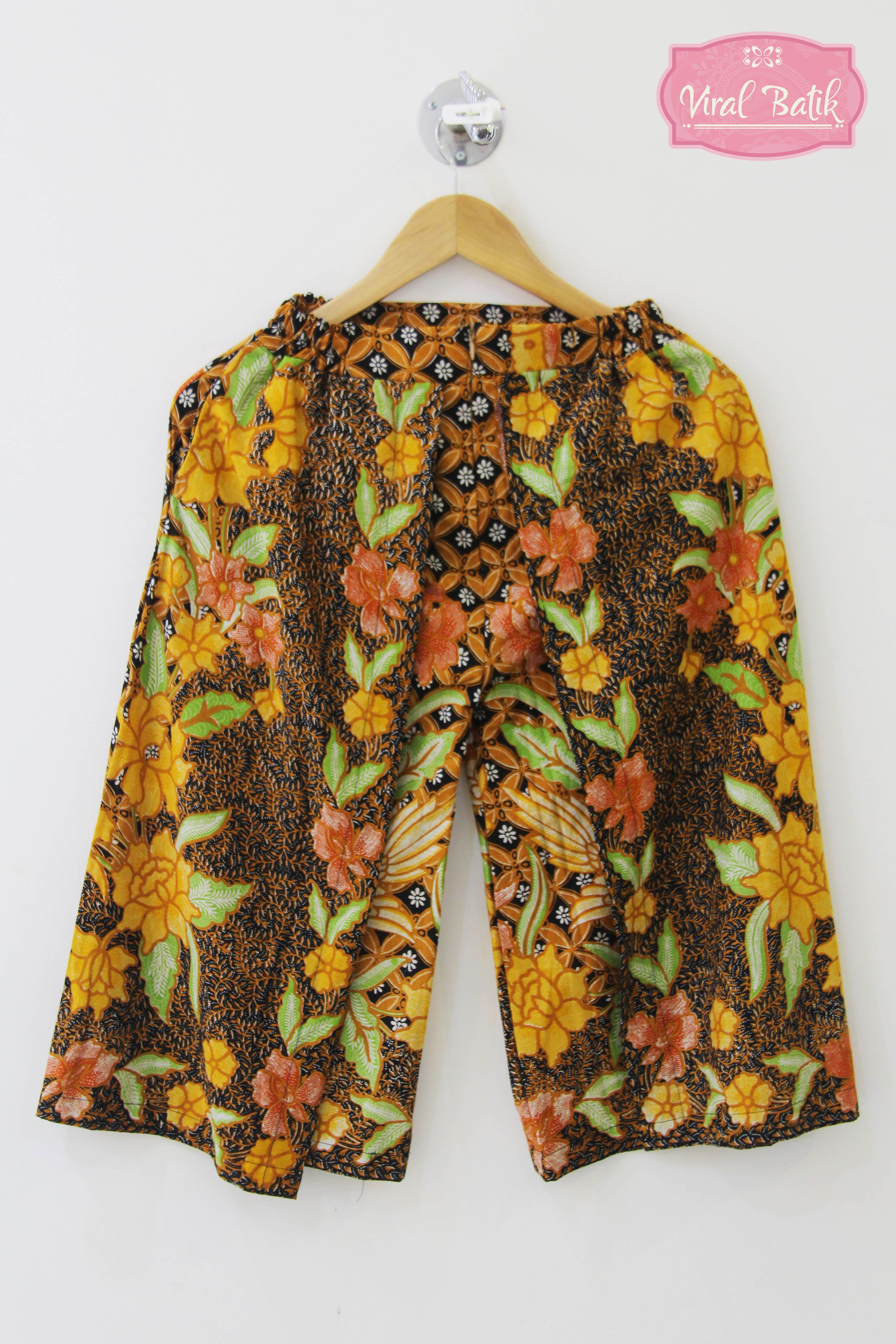 Jual Celana Batik Wanita Celana Pendek Wanita Celana Murah Viral Batik