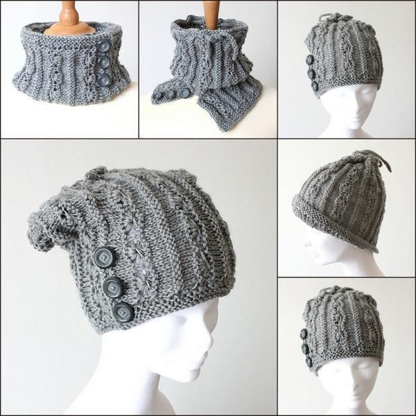 Looking for your next project? You\'re going to love Knit Pattern Hat ...