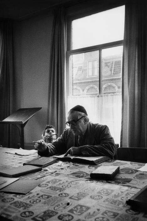 NETHERLANDS. Amsterdam. Rabii Teschin student at his home.