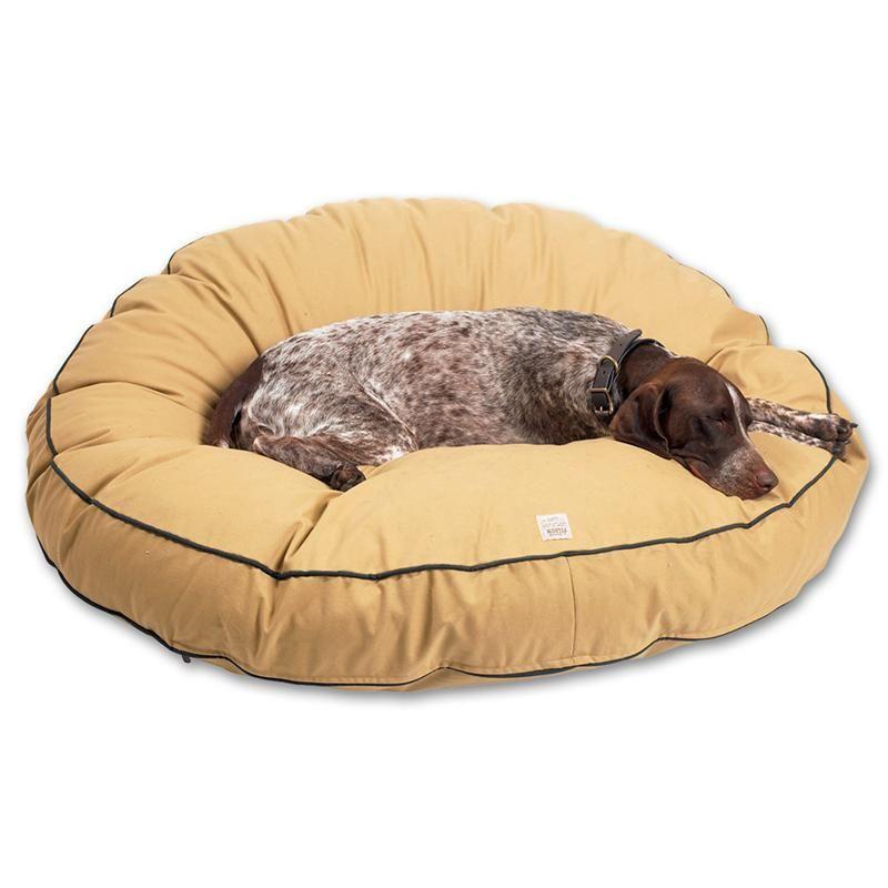 Filson Dog Bed Large Style 90111 Dark Tan Large Dog Pillows Dog Bed Large Round Dog Bed